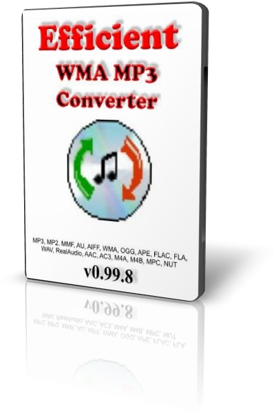 Efficient WMA MP3 Converter 0.99.8