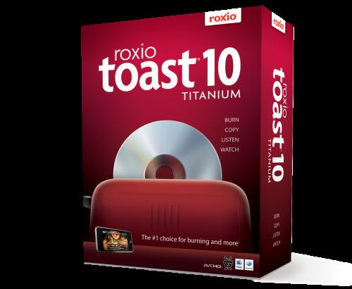 Toast Titanium 10.0.7 + HD/BD Plug-in