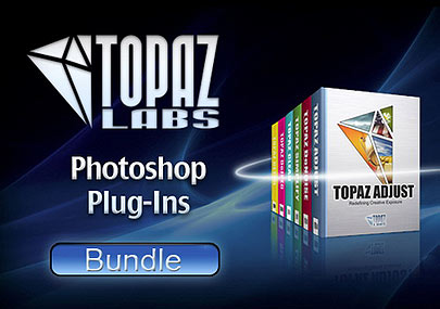 Topaz Plug-In Bundle( Adjust 4, Simplify 3, Clean 3, DeNoise 5, DeJPEG 4, ReMask 2, Detail 2)