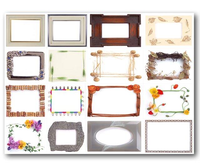 200 оригинальных рамок для оформления фотографий в PhotoShop [2007, Рамки для Photoshop]